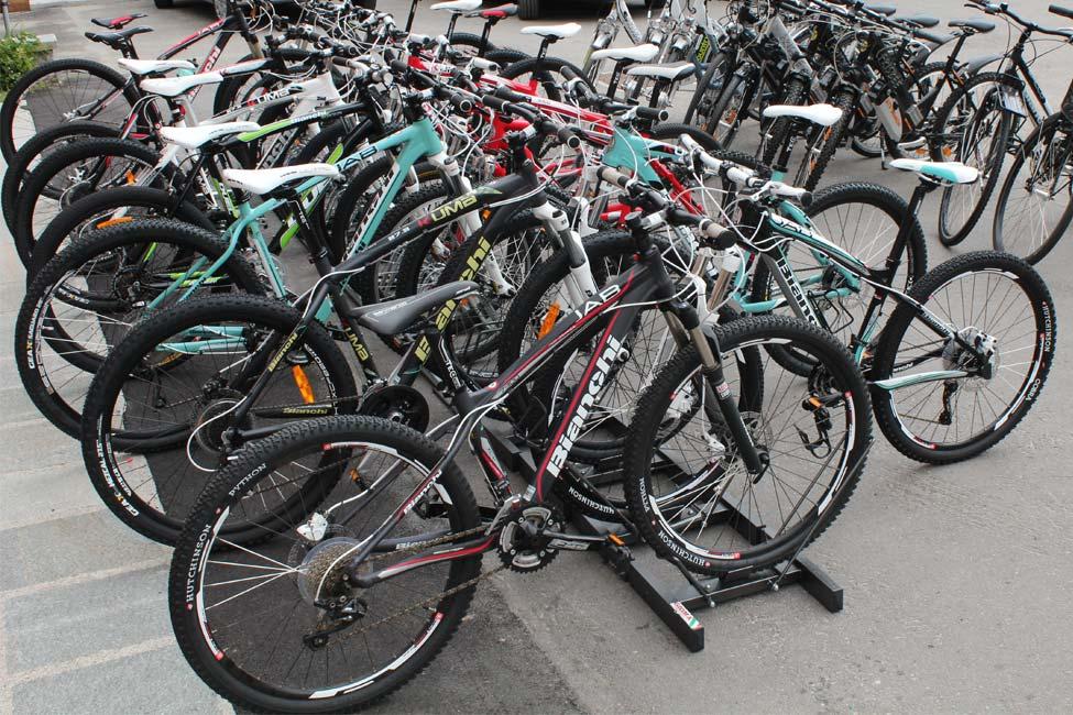 Gamma delle bici a noleggio di Defox Livigno